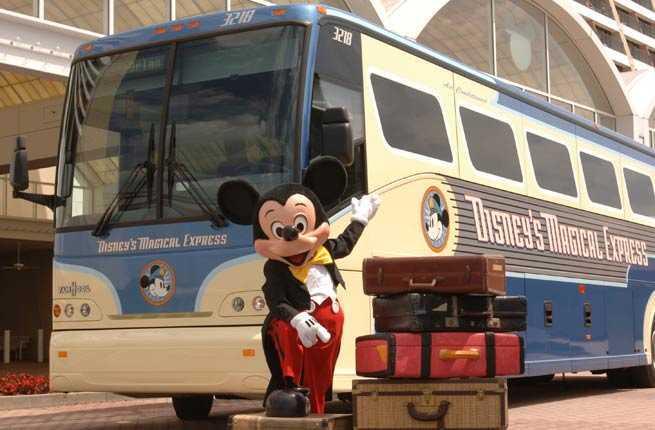 Arrange Disney's Magical Express Transportation
