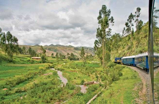Hiram Bingham Orient-Express from Cusco to Machu Picchu