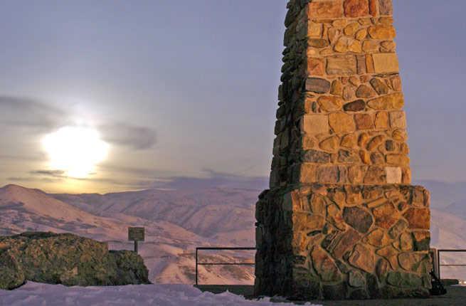 Ensign Peak, Salt Lake City, Utah