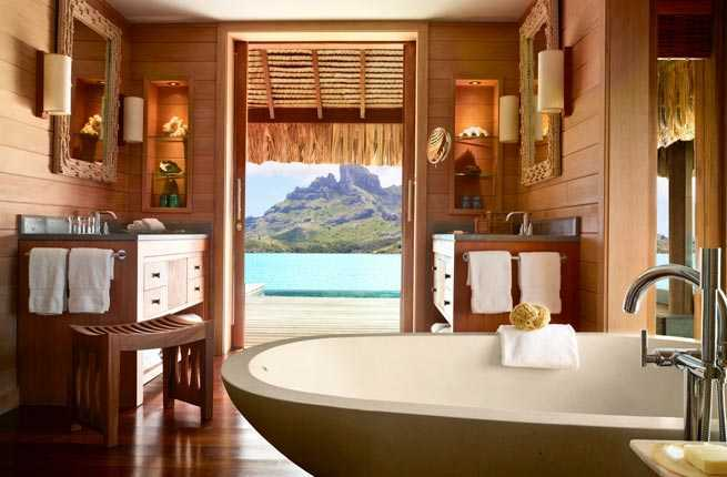 best hotel bathrooms. Photo Courtesy Of Barbara Kraft/Four Seasons Best Hotel Bathrooms