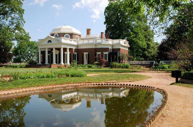 Southeast: Monticello, Virginia