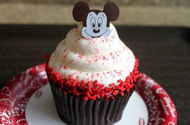 Cupcakes at Disney's Contemporary Resort