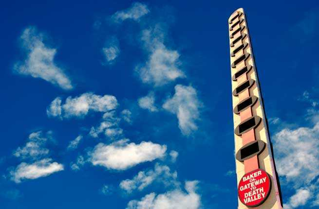 World's Largest Thermometer