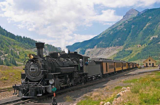 Glacier Express from Zermatt to St. Moritz, Switzerland
