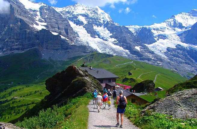 active adult alps austrian easy guide hiking in swiss walking