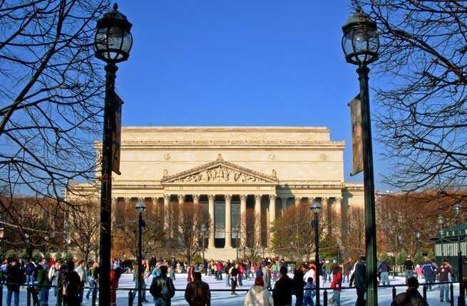National Gallery of Art Sculpture Garden Ice Rink