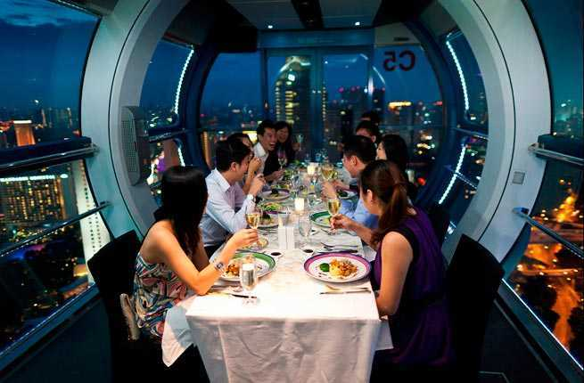 speed dating dinner singapore flyer