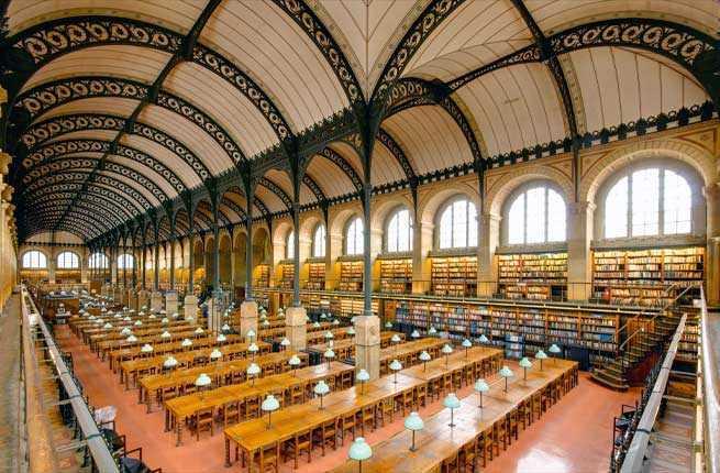 Bibliotheque Sainte-Genevieve