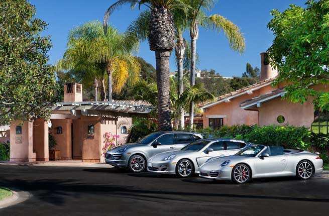 Complimentary Porsche
