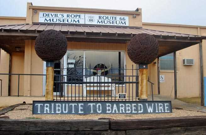 Devil's Rope Barbed Wire Museum