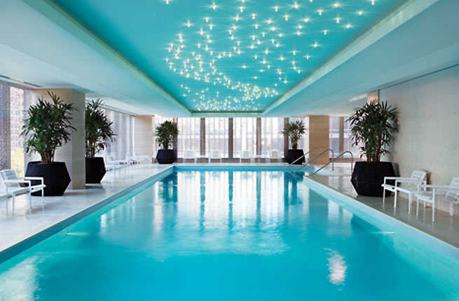 10 great hotel pools for snow day staycations fodors for Small luxury hotels chicago