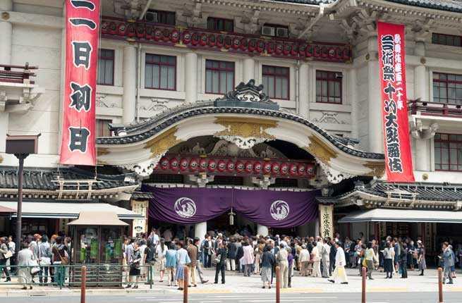Kabuki-Za Kabuki Theater