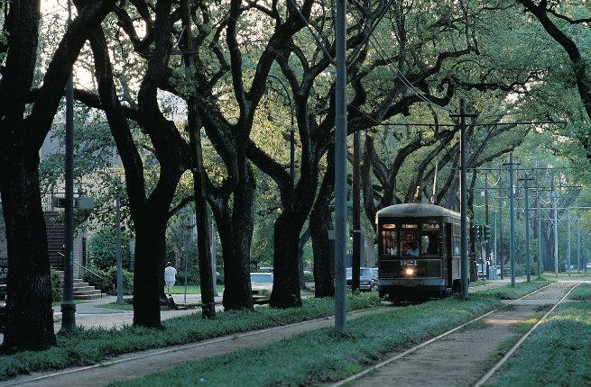 Streetcar jog track