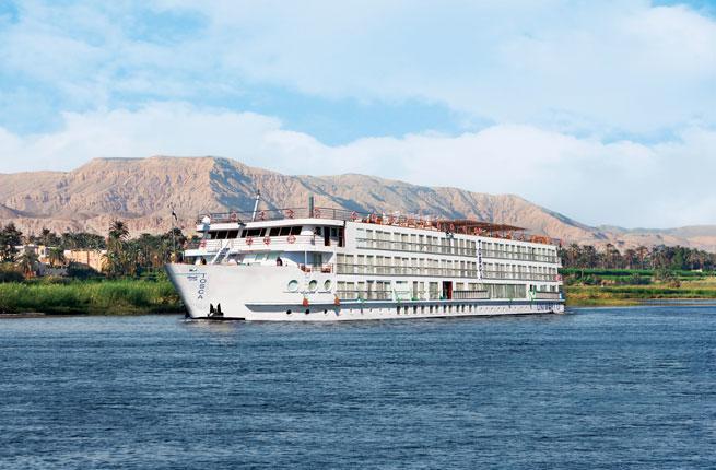Small River Cruise Ship