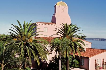 """Mosey over to La Valencia Hotel, a La Jolla landmark built in 1926 and  known to many as """"The Pink Lady,"""" for after-dinner craft cocktails  overlooking the ..."""