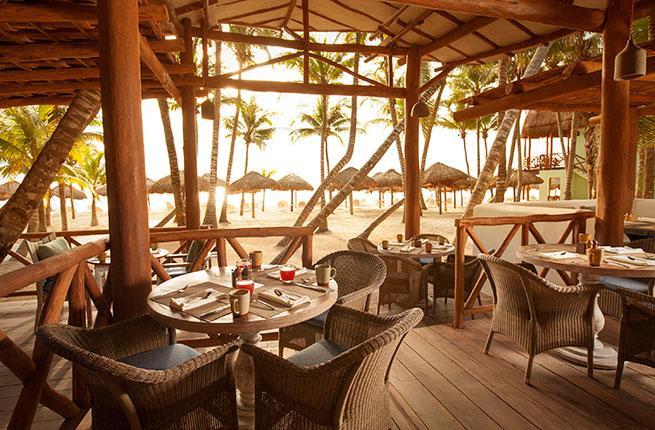 Fuego Restaurant at the Mahekal Beach Resort in Playa del Carmen