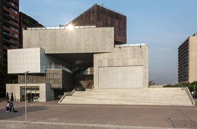Exterior of Museo de Arte Moderno de Medellin