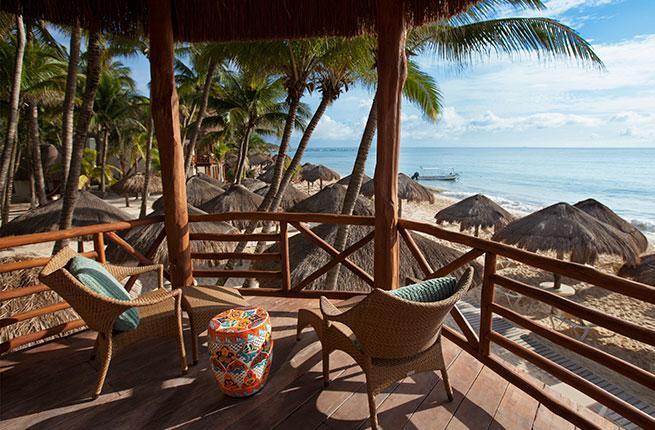 The Mahekal Beach Resort in Playa del Carmen
