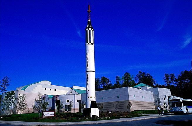 Museum rocket
