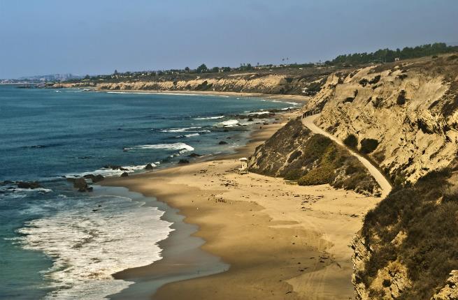 Orange County coastline