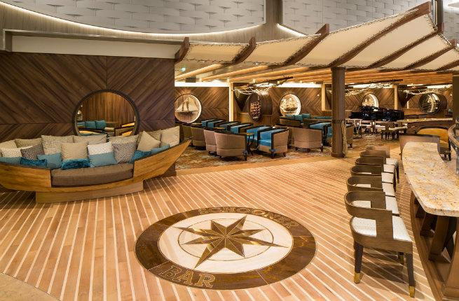 Inside cruise ships images galleries with a bite - Advantages disadvantage buying replica nautical globe bar ...