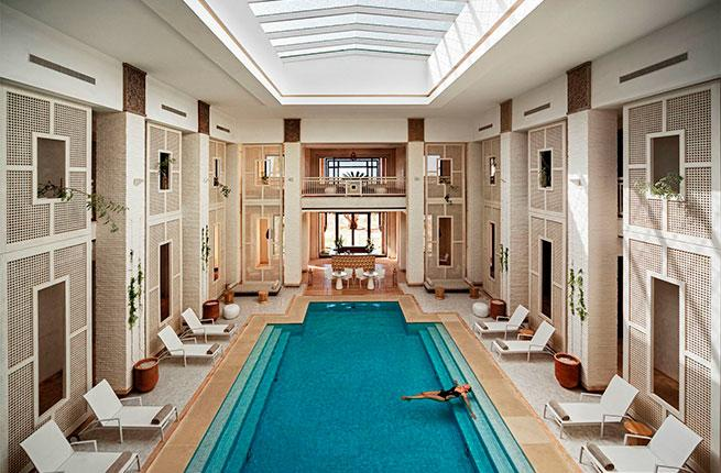 The Clarins Spa