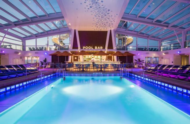 Pool on the Anthem of the Seas