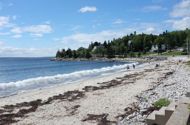Nova Scotia seashore