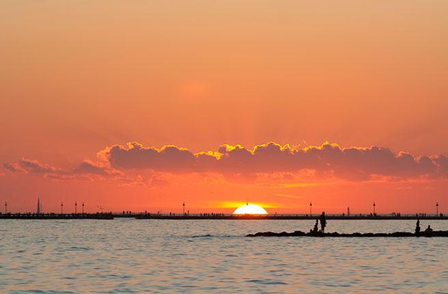 Smather's Beach Sunset