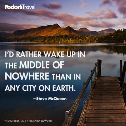 Travel Quote of the Week: On Getting Away From It All ...