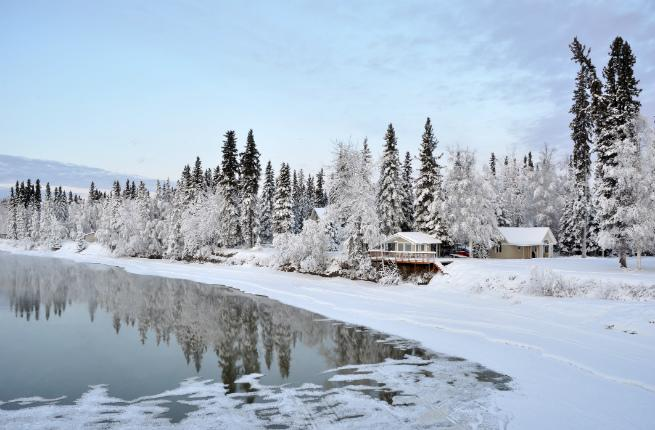 Alaska in Winter
