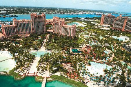 Aerial of Atlantis