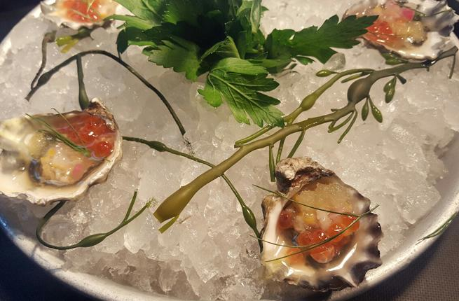 Atlantic Grill - Oysters