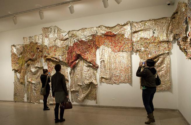 Gravity and Grace Monumental Works by El Anatsui, Brooklyn Museum