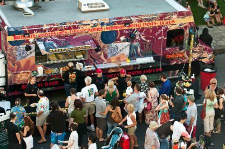 Spam Jam Cheeseburger Truck