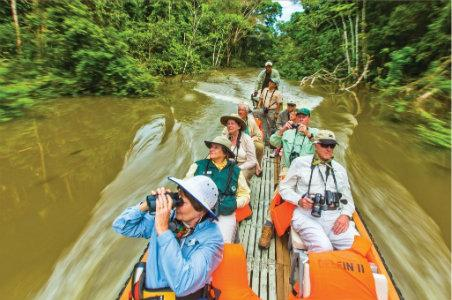 Boat on the Amazon