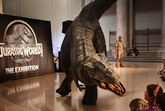jurassic world franklin institute