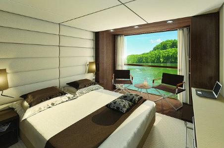 New River Cruise Line Emerald Waterways Launches This Spring - Emerald river cruise ship