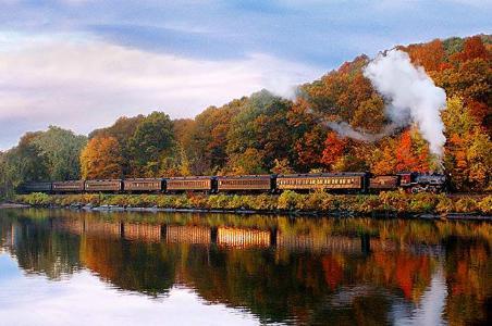 Essex Steam Train Riverboat