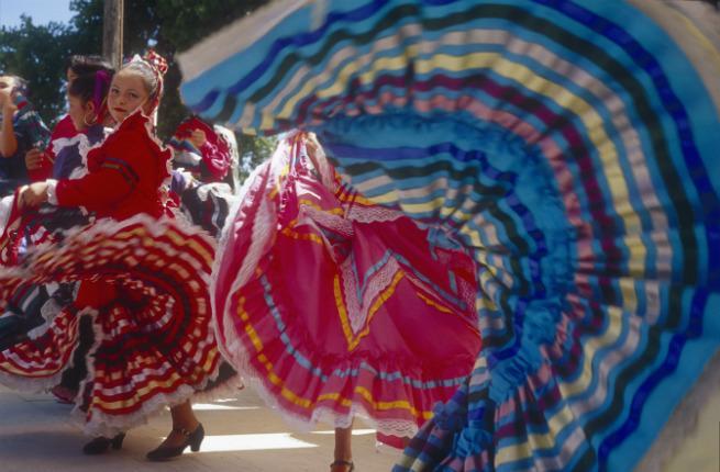 Fiesta Dancers in Santa Fe