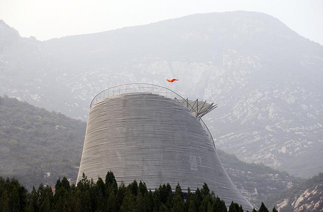 flying monks