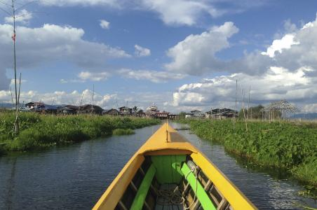 Boating Around Inle Lake