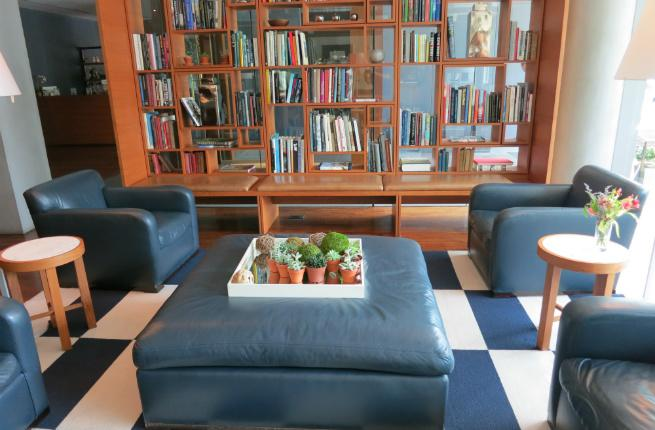 The Study at Yale's lobby