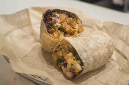 Mercadito Counter burrito