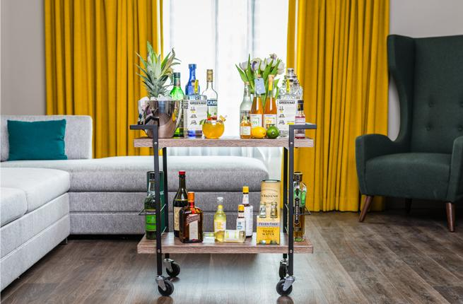 At A New Boutique Hotel Called The Darcy In Washington D C Guests Will Be Able To Order Tail Cart Their Rooms Along With Mixologist Who