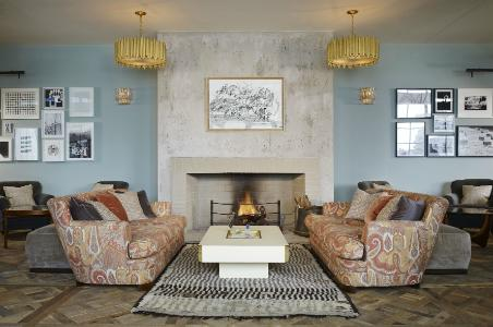 Soho House Chicago Drawing Room