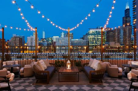 Soho House Chicago rooftop