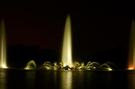 Chateau de Versailles' Grandes Eaux Nocturnes
