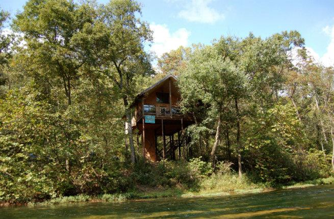 Missouri Treehouse Cabins