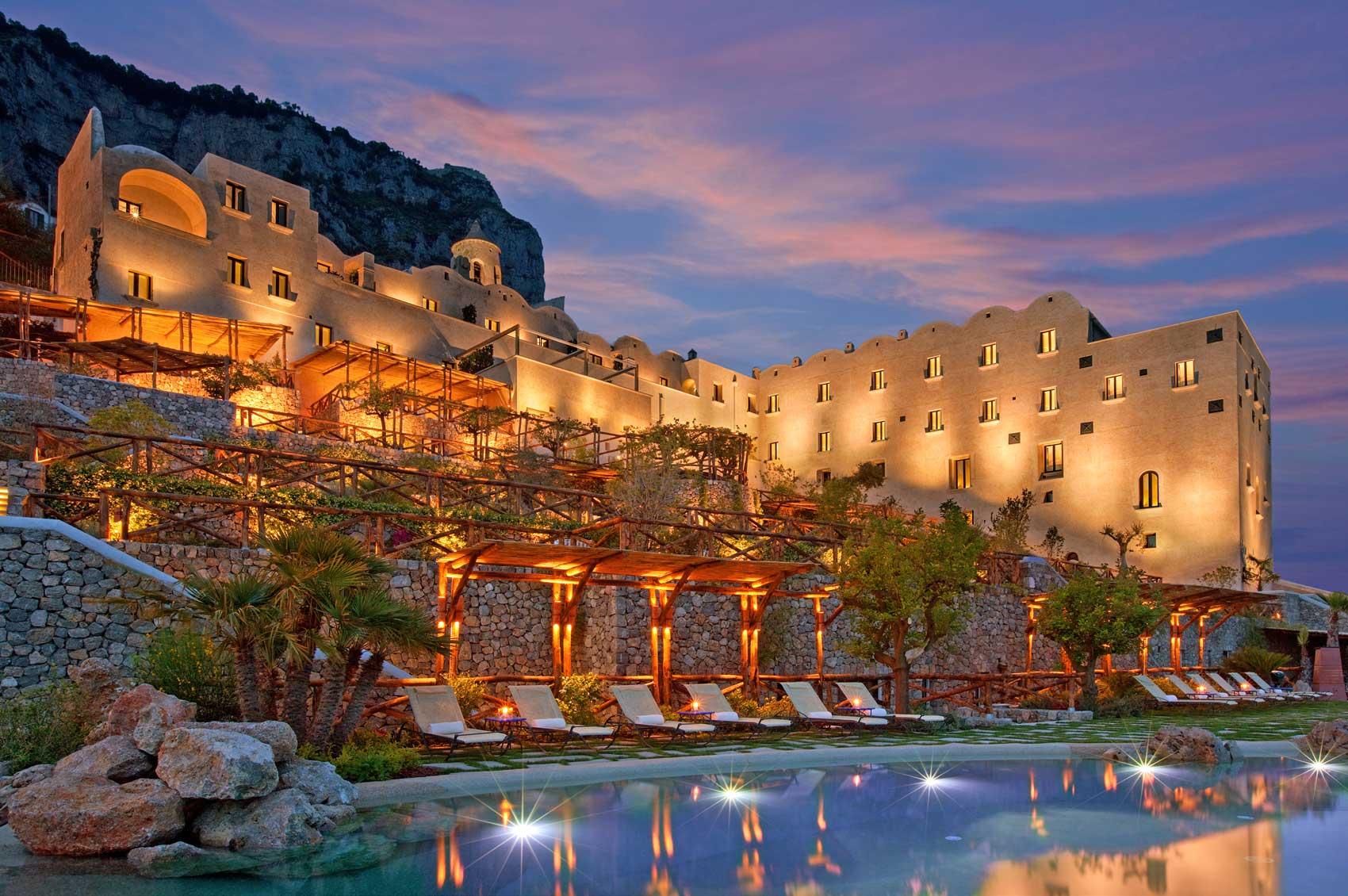 Monastero Santa Rosa Hotel & Spa Fodor\'s 100 Hotel Awards 2012